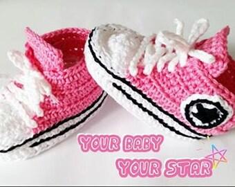 Baby booties, crochet baby booties, baby gift, baby shower, pink baby booties, crochet booties, baby shoes, newborn gift, newborn booties