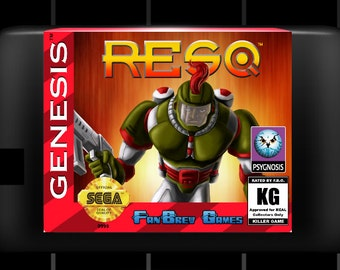 "SPECIAL ORDER! ""ResQ"" Custom Unreleased Sega Genesis Platformer!"
