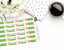 Planner Stickers |Savings Stickers| Financial Planning|Flags|Erin Condren| Inkwell Press| DokiBook| Personal Planner|Happy Planner| D031