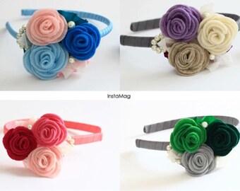 Roses Headbands