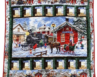 Snow Days - Lap Quilt