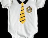 Huffle Puff Harry potter hogwarts baby vestromperbodysuit
