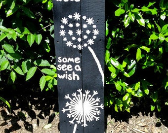 Dandelion Garden Sign