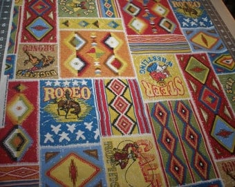 Southwest Rodeo Patch By-the-yard