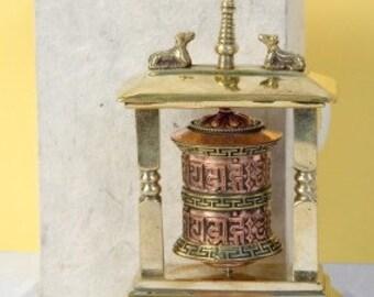 miniature temple style table wheel