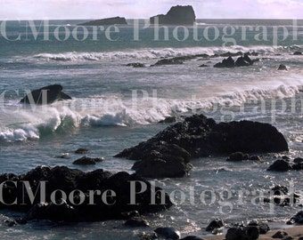 Pacific Ocean Coastline California