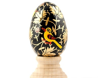 Goldfinch Russian Wooden Easter Egg- SKU # wp-76