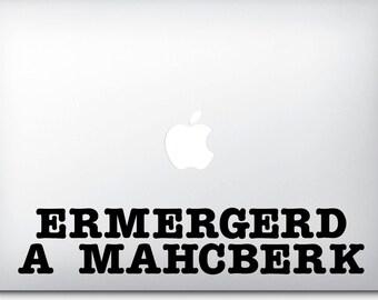 Macbook Sticker - Macbook Pro Decals - Macbook Air Stickers - Funny Gifts - Gag Gifts for Women - Decals for Macbook Pro - Computer Decals