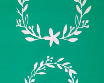 List 1 Assorted Wreath Stencils *Free gift with every order*