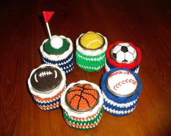 Sports Ball Jar Topper & Jar Cover, Candy Jar, Basketball Candy Jar, Baseball Candy Jar, Football Jar, Golf Jar, Tennis Jar, Soccer Jar