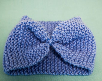 knitted head band
