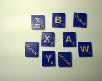 Personalized Scrabble Tiles