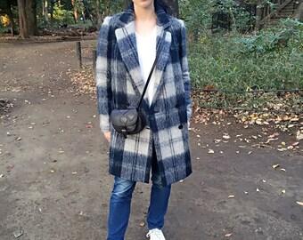 Eidy leather satchel in mini