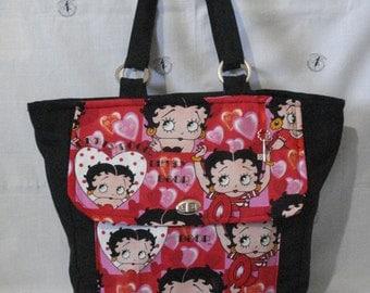 Betty Boop bag hearts