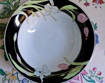 "2   Vintage Fairfield Fine China -Vanessa - Bowls - 8  1/4"""