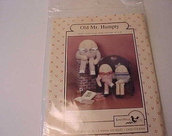 Jenny Wren  Old Mr. Humpty Pattern