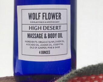 High Desert Massage & Body Oil