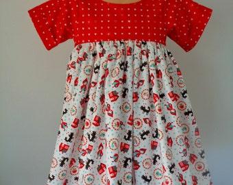 Girls Little red ridinghood Dress Age 4