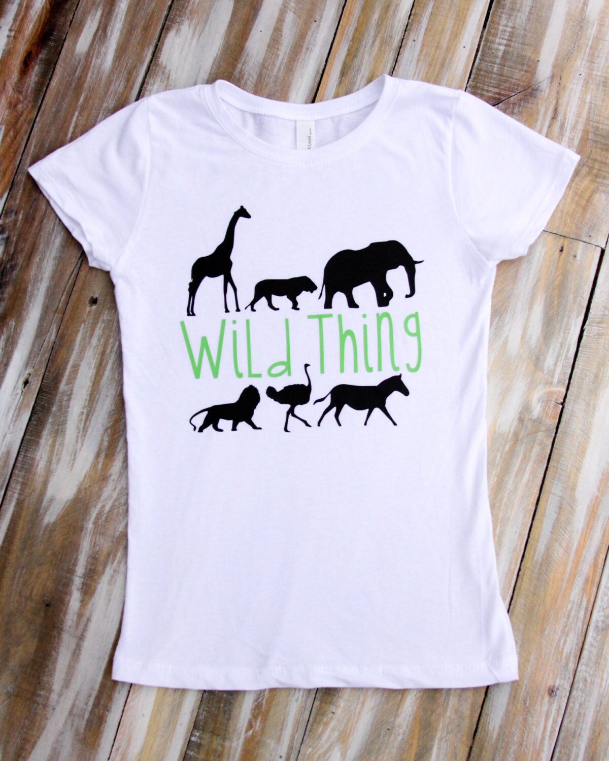 Wild Thing Zoo Animal Shirts And Onesies For Boys Amp Girls