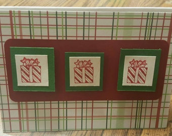 Holiday cards set of 2
