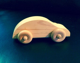 Handmade Wooden Toy Cars for kids