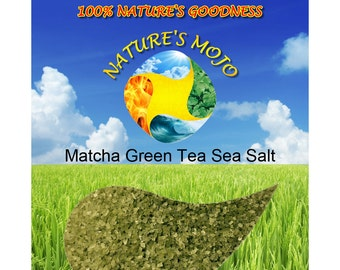 Matcha Green Tea Sea Salt Refill 1 Pound