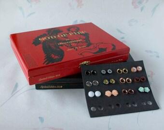 God of Fire by Don Carlos Cigar Box Set Plug Storage