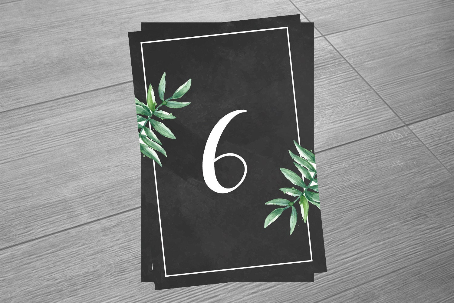 chalkboard table numbers ~ wedding table number template chalkboard table number