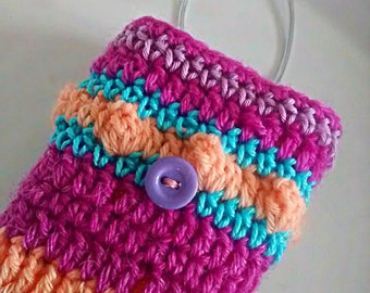 Free Crochet Pattern For Cigarette Case : Crochet tissue box Etsy