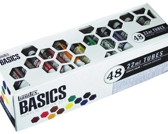 NEW Best Price! Liquitex Basics Acrylic Paint Tube 48-Piece Set - FAST SHIPPING!!!