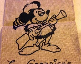 Mickey Disney Garden Flag for Fort Wilderness