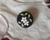 Vintage Cloisonne Button....
