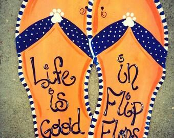 Flip Flops door hanger