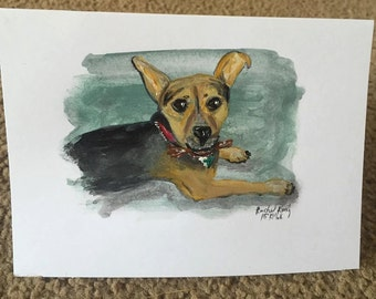 Personalized pet cards