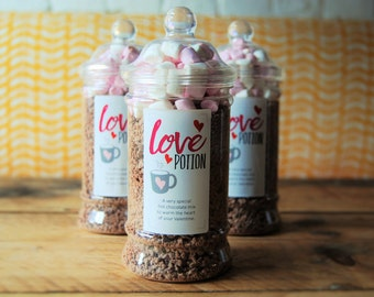Love Potion - Handmade Hot Chocolate Mix - Valentine's Day gift