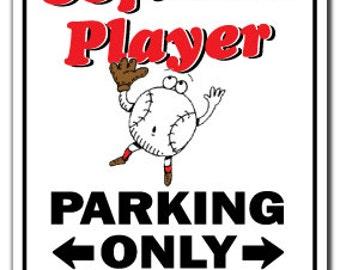Softball Player ~Sign~ Soft Ball Sport Athlete Gift
