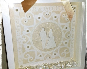 Wedding box frame