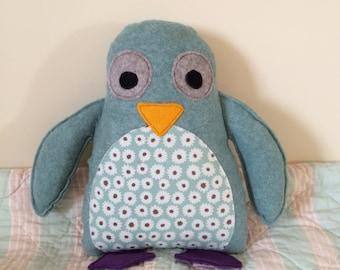 So cute penguin cushion