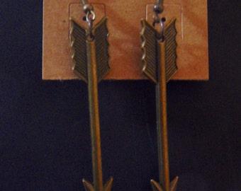 Arrow earrings FREE SHIPPING
