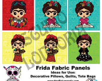 Frida Fabric Panels