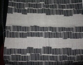 Cushion Cover Austrlian Screen Print Black on Flax linen
