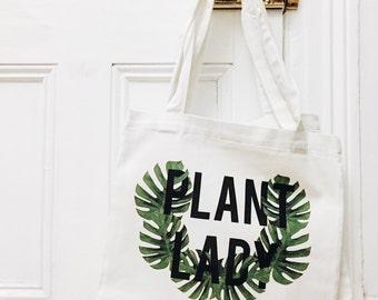 Plant Lady // Plant Man Tote Bag