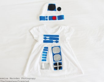 R2D2 Baby/Toddler Costume Dress