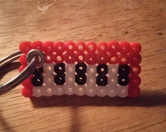 Red Key Board Key-chain