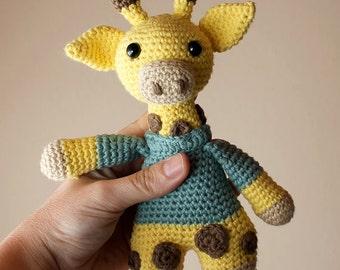 Giraffe - Animalius. Crochet Doll, Amigurumi Toy, Crocheting, Made to Order, Animal Crochet, Cute Children Gift, Nursery Doll, DIY