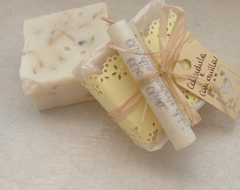 Calendula and camomile SOAP