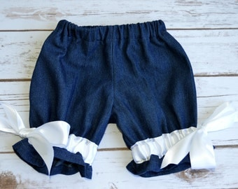 Baby girls pantaloons, girls boutique clothes, girls summer outfit, toddler girl clothes, girls outfit, girls pantaloons