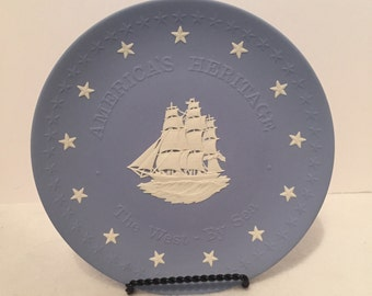 Wedgwood 'America's Heritage' 'The West - By Sea Collector Plate