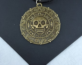 Pirate Medallion Necklace (Inspired by POTC)
