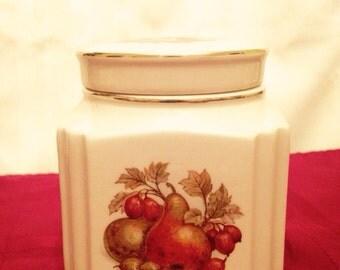 Sadler Fruit and Nuts Ginger Jar / Canister